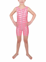 Danskin Girls Camellia Rose Sparkle Gymnastics Shortall
