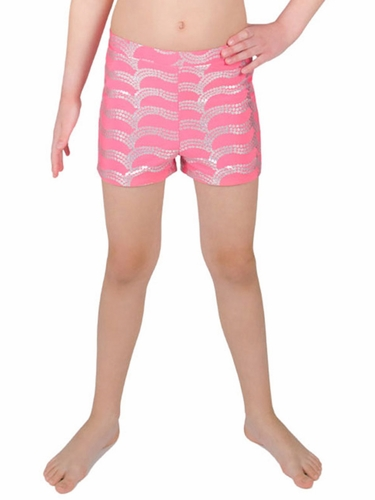 Danskin Team Essentials - Girls Black Boy-Cut Shorts