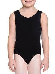 Danskin Girls Rich Black Racerback Leotard