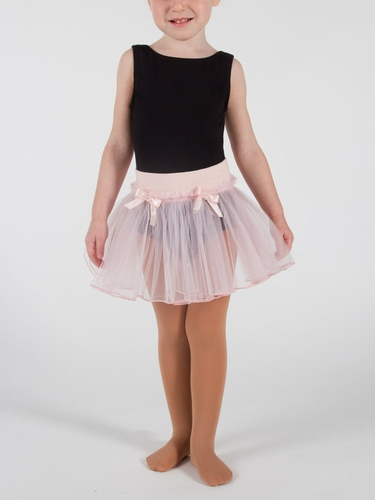 Danskin Girls Theatrical Pink Pull on Tutu