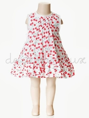 Deux par Deux Poetic Kitch Cherry Dress
