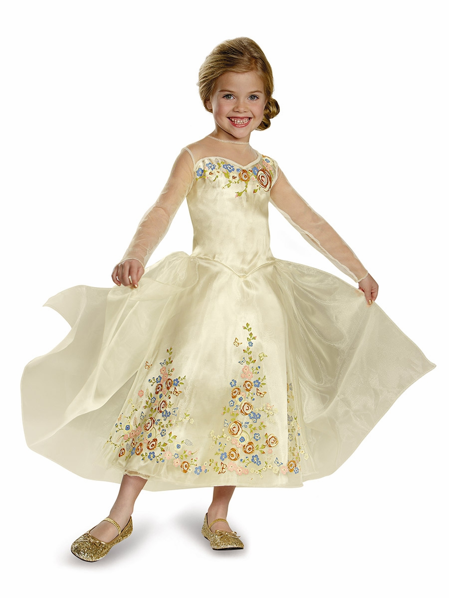 Halloween costumes gt disney cinderella movie wedding dress deluxe