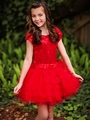 Dolls & Divas Amy Sequins Ruffle Dress