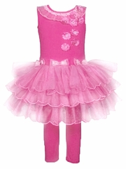 Donita Fuchsia Tutu Dress