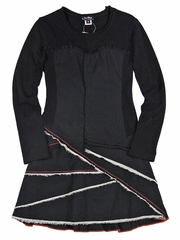 Eliane et Lena Lotusette Noir Dress