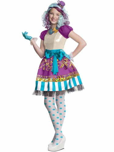 Ever After High Madeline Hatter Deluxe Costume