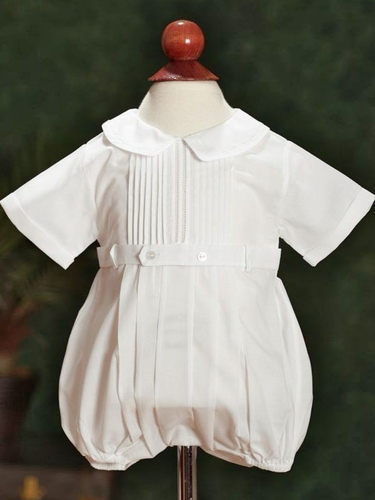 Feltman Brothers Boys Creeper with Belted Front