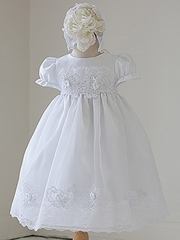 Girls Christening Gown w/ Bonnet