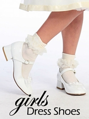 Girl's Dress Shoes & Flower Girl Shoes