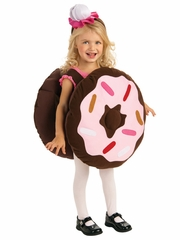 Girls Sprinkle Doughnut Costume