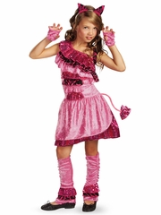 Glam Kitty Girls Costume