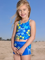 Gossip Girl Check the Beach 2PC Tankini