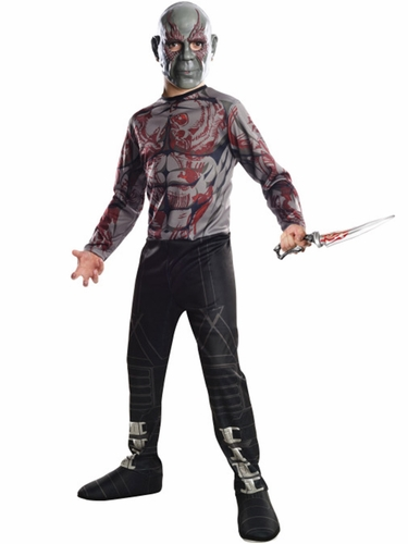 Guardians Of The Galaxy Drax The Destroyer Costume