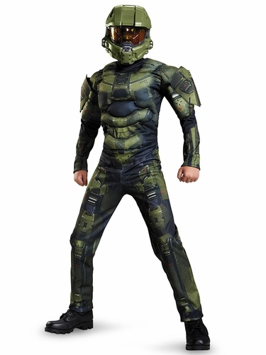 Halo Master Chief Classic Muscle Costume