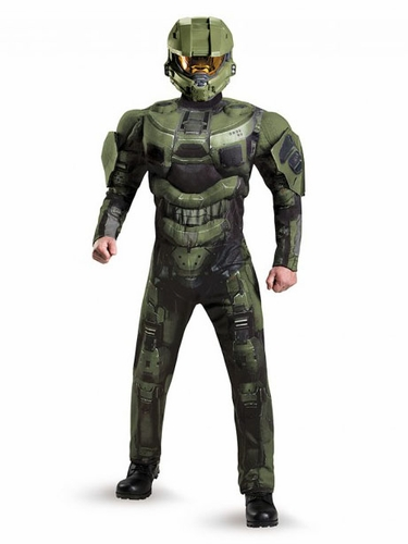 Halo Master Chief Deluxe Muscle Adult