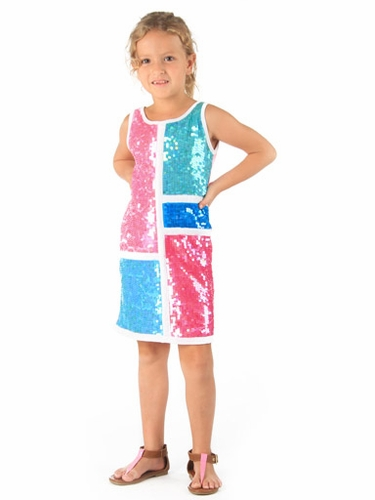 Haven Girl Twiggy Dress w/ Sequins