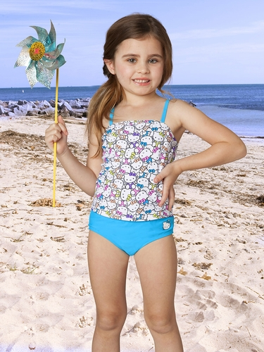 Hello Kitty Neon Tankini Set
