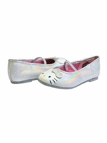 Hello Kitty Silver Lil' Abbey Shoes