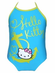 Hello Kitty Turquoise Halter 1PC Swimsuit
