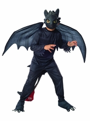 """How To Train Your Dragon 2"" Toothless Night Fury"
