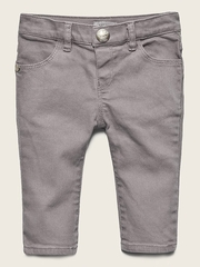 IKKS Gray Denim Trousers