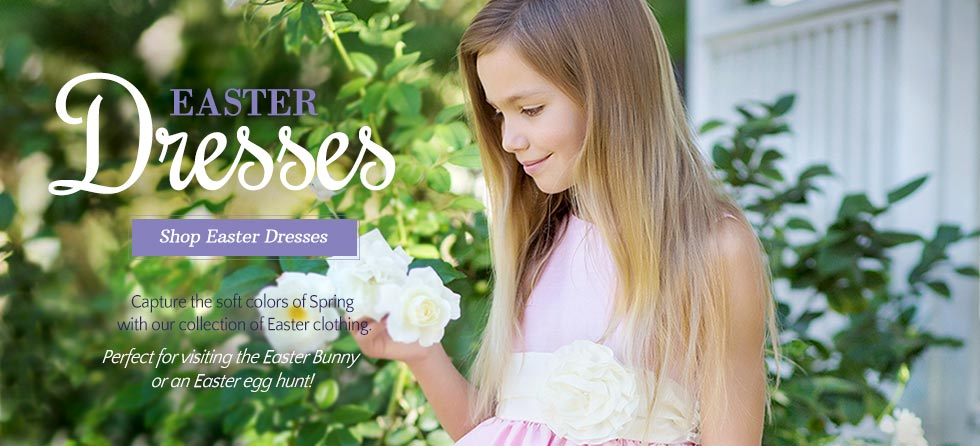 Girls Easter Dresses & Spring Dresses