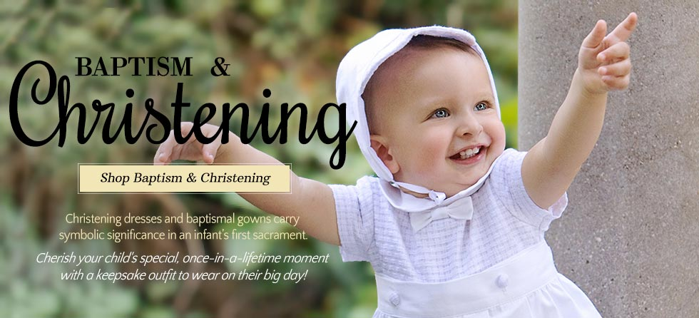 Christening Dresses & Baptism Gowns