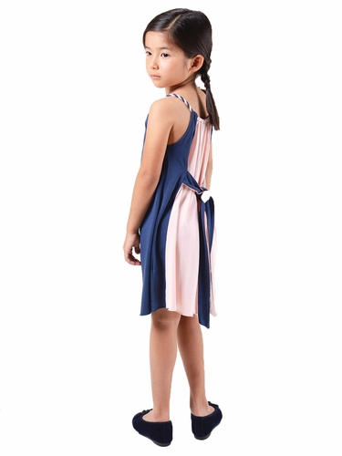 Imoga Brooke Navy / Petal Vice-Versa Dress