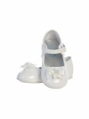 Infant Girls White Shoes w/ Bow