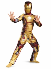 Iron Man Mark 42 Classic Boys Costume