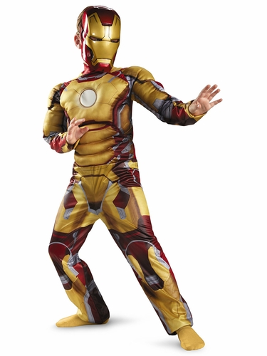 Iron Man Mark 42 Muscle Costume