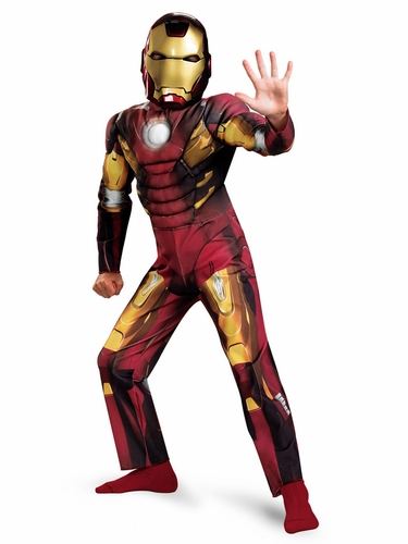 Iron Man – Mark VIII Avengers Movie Classic Muscle Costume
