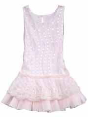 Isobella & Chloe Angel Wings Light Pink Dress