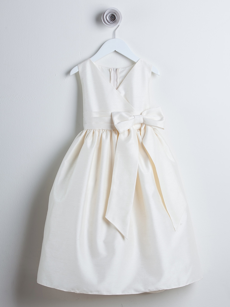 Ivory Flower Girl Dresses - PinkPrincess.com