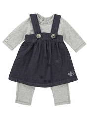 Jean Bourget All-in-One Combination Dress w/ Onesie