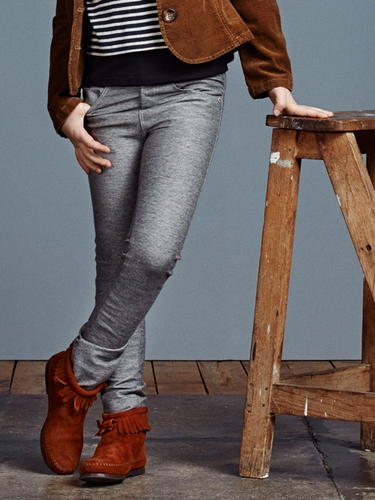 Jean Bourget Grey Trousers
