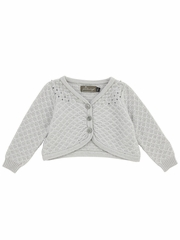 Jean Bourget Light Gray Cardigan