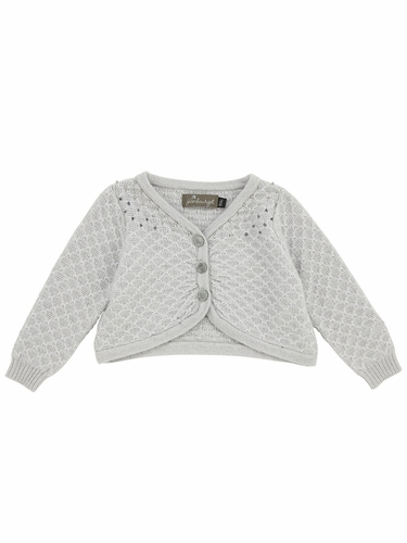 Jean Bourget Light Grey Cardigan