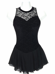 Jerry�s Black Overlace Dress