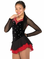Jerry's Black/Red Magnetism Dress