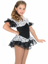 Jerry's Black Swan Dress