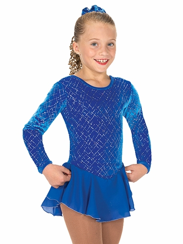 Jerry's Blue Ice Tinsel Dress