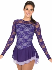 Jerry's Lace Over Lavender Dress