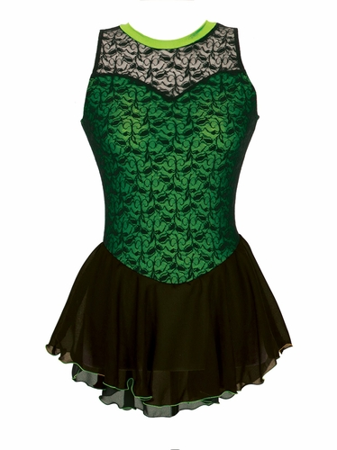 Jerry�s Lime Overlace Dress