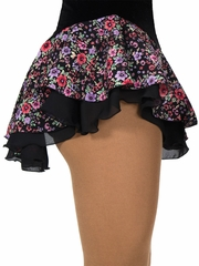 Jerry's Multicolor Double Georgette Floral Print Skirt