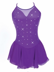 Jerry's Purple Mirror Dress