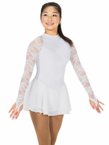 Jerry's Snow White Lace Chanson Dress