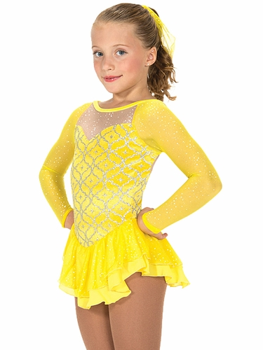 Jerry�s Yellow Sun Rays Dress