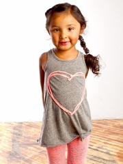Joah Love Hope Gray Tunic