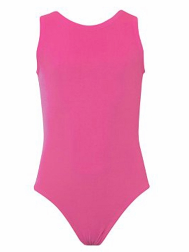 K-Bee Leotards Bubble Gum Pink Velvet